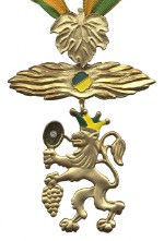 BDK Goldener Löwe mit Brillant