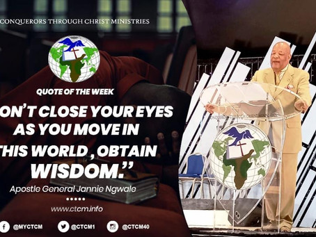 Apostle General Jannie Ngwale  - Arise and Worship the Lord