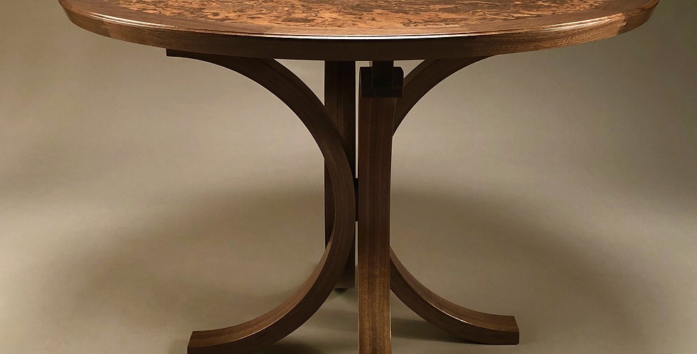 Crescent Moon Round Table