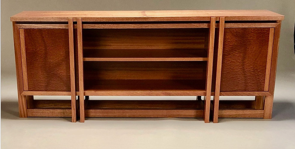New Moon Wood Top Credenza