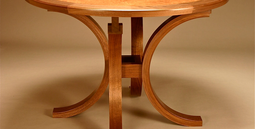 Crescent Moon Entry Table