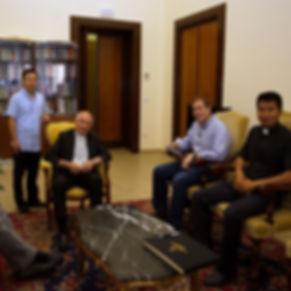 2018-07-09 Meeting Abp Tomasi, Fr. A Wan