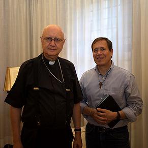 2018-07-09 Meeting Msgr. Celli, Fr. Agli