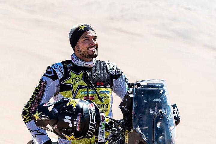 Pablo Quintanilla, piloto Rockstar Husqv