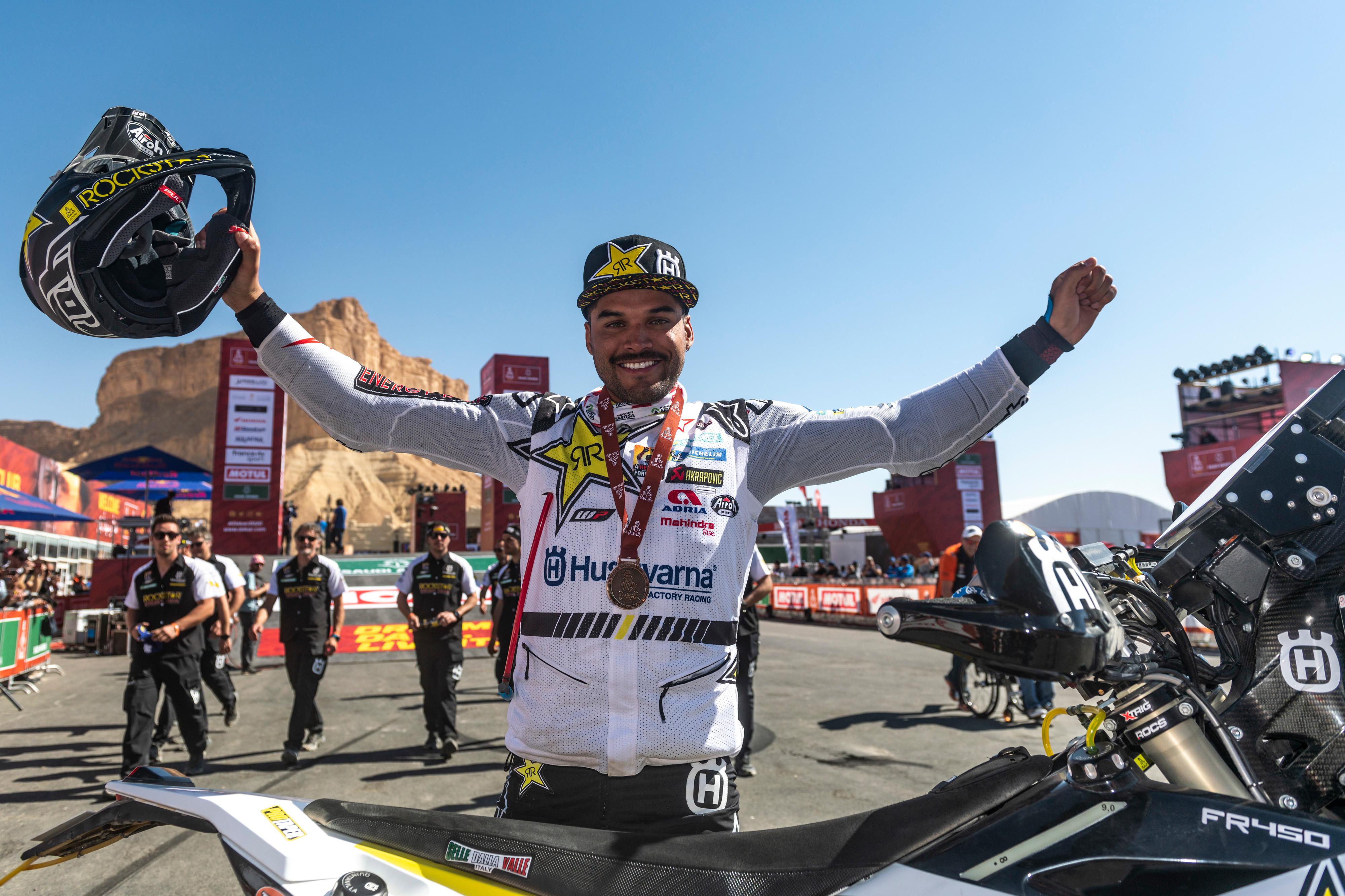Pablo Quintanilla, segundo final Dakar 2