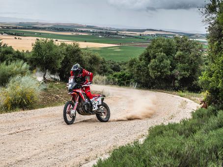Pablo Quintanilla top ten en su primer día en el Andalucía Rally 2021
