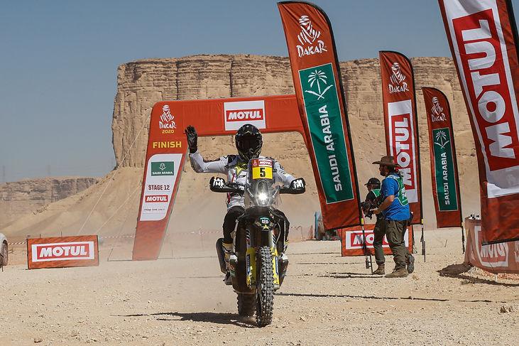 Pablo Quintanilla6, segundo final Dakar