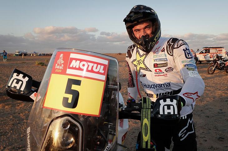 Pablo Quintanilla, Etapa 1 Dakar 2020.jp