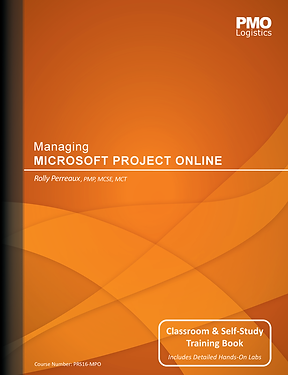 Cover for Managing Microsoft Project Online Book