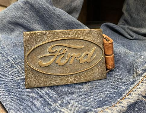 Vintage 70s Ford Belt