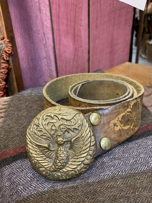 Vintage Peacock Belt