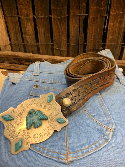 Vintage Thunderbird Belt