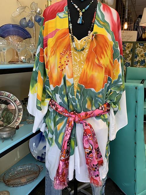 Redesigned Tropical Kimono
