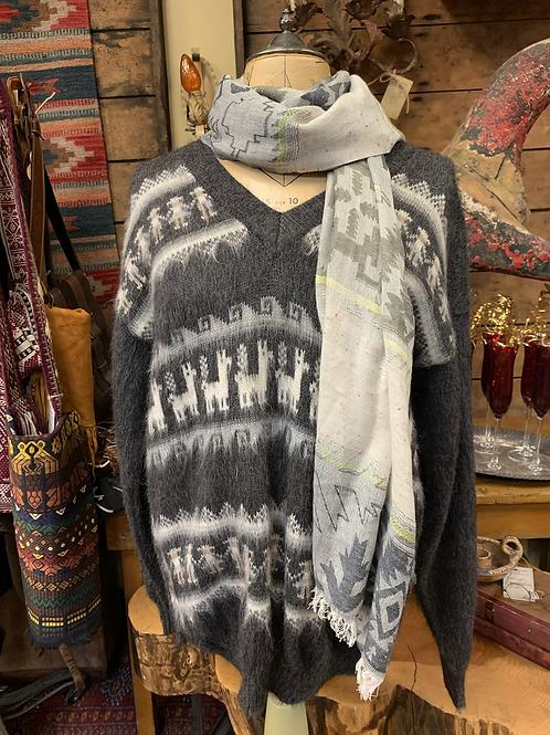 Vintage Alpaca Pullover