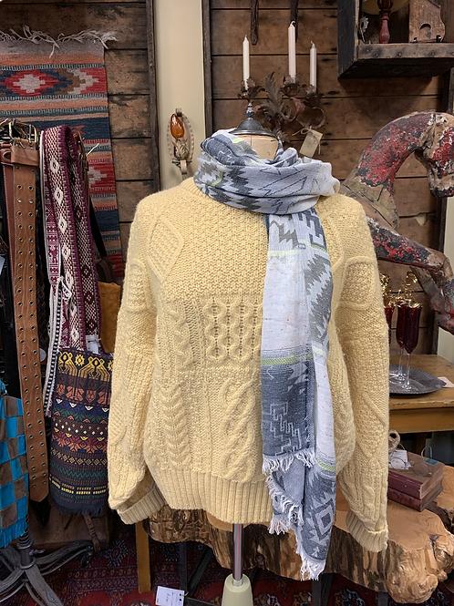 Vintage Yellow Fisherman's Sweater