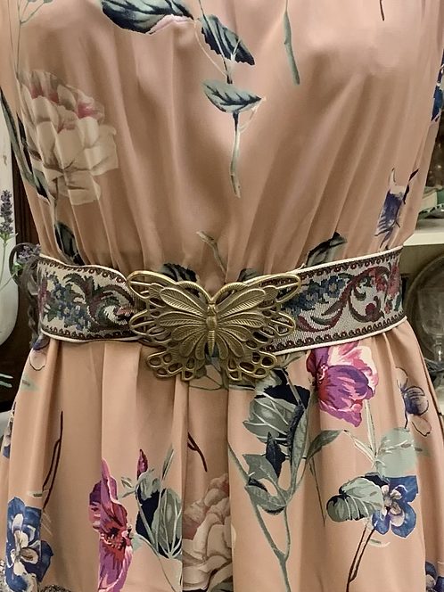 Brocade Butterfly Belt