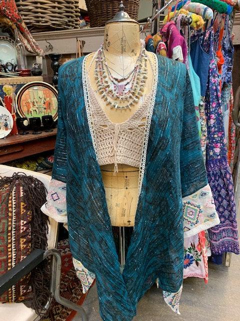 Redesigned Teal Kimono