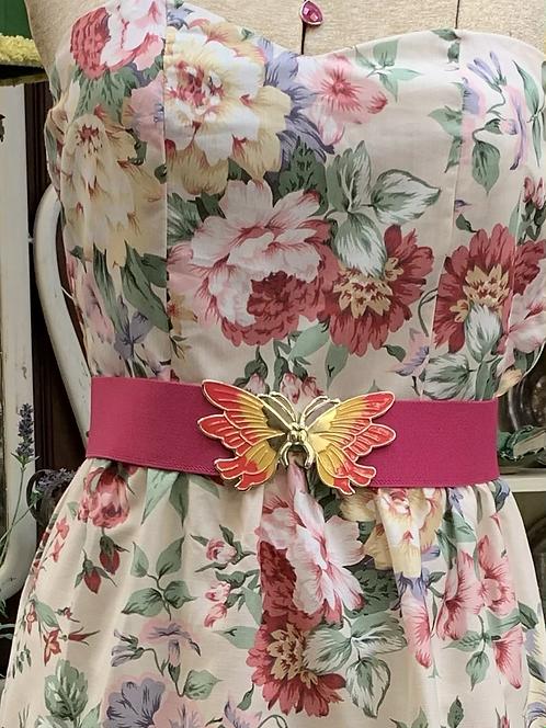 Vintage Stretch Butterfly Belt