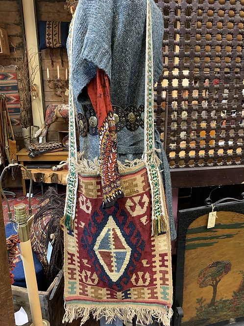 Vintage Textile Tote