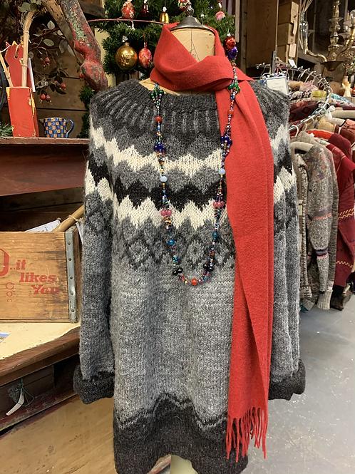 Vintage Alpaca Pullover Sweater