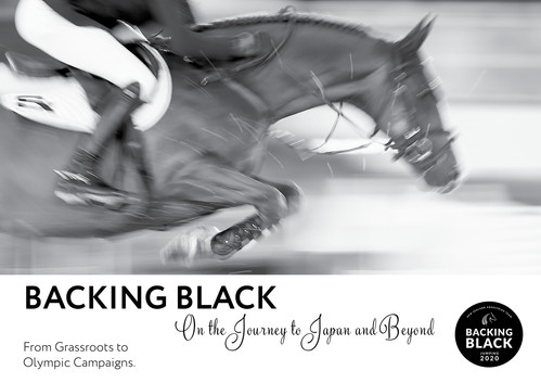 Marketing Material for the Backing Black Campaign.
