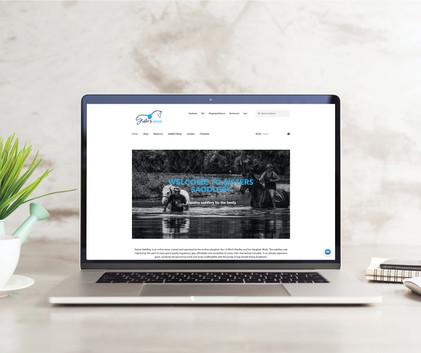 Website for Sisters Saddlery.