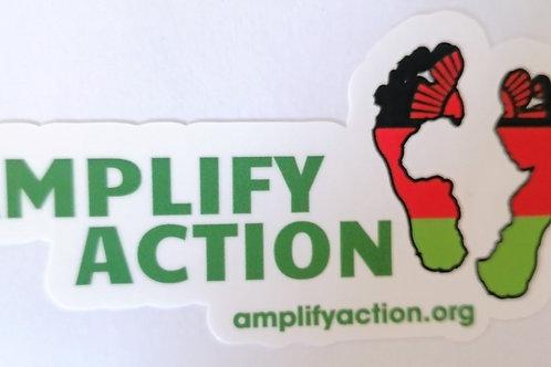 Amplify Action Malawi Logo Sticker