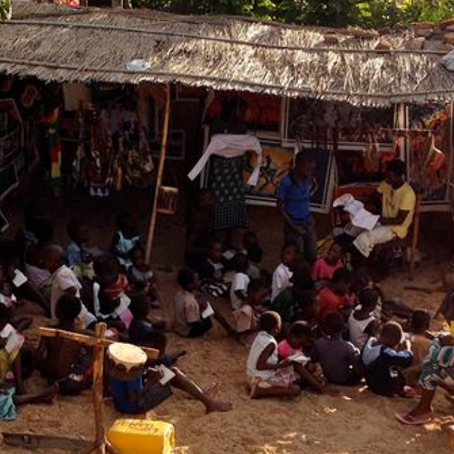 Beach Art Gallery School- Cape Maclear, Malawi