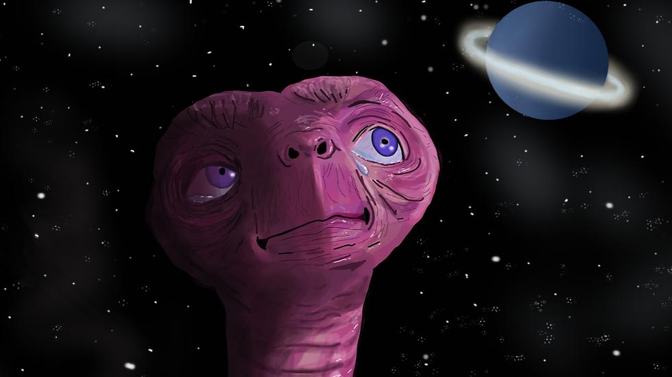 """The E.T. """"E.T. Phone Home"""" print"""