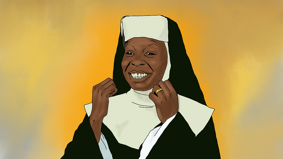 """The Sister Act 2 """"Oh Happy Day!"""" print"""