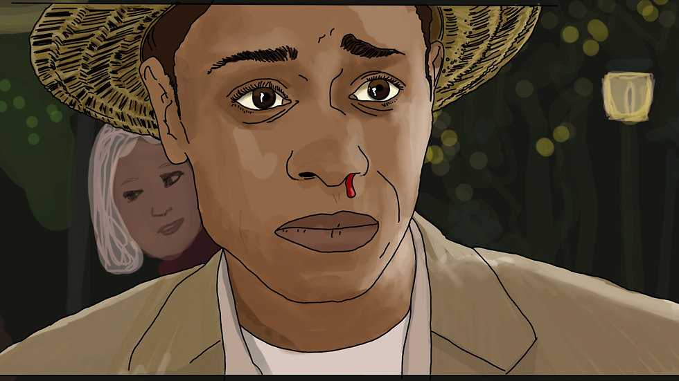 """The Get Out """"Get Out!"""" print"""