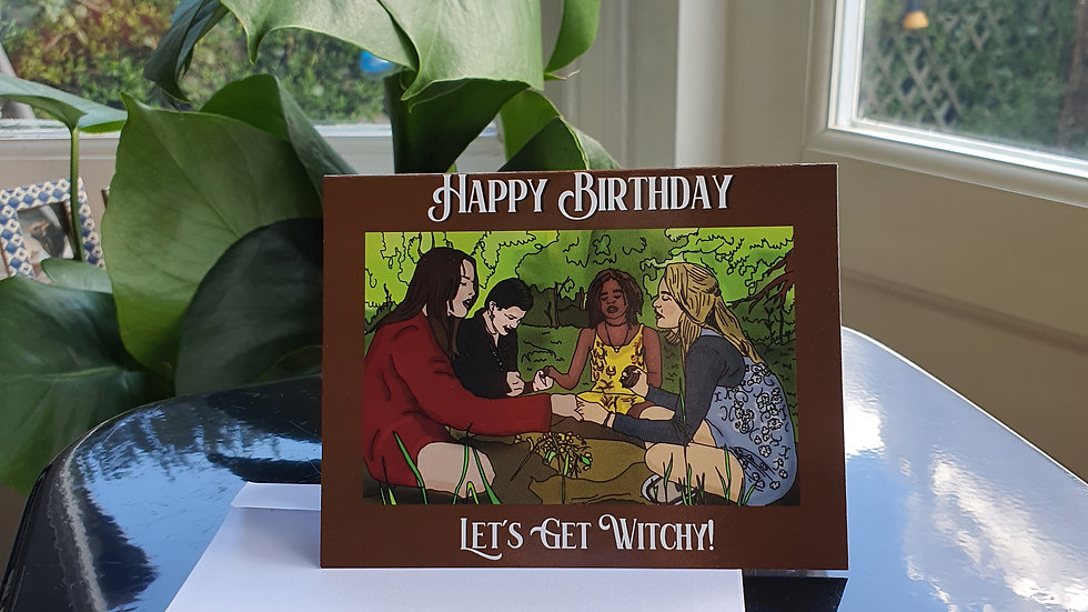 """The Craft """"Let's Get Witchy!"""" Greeting Card"""
