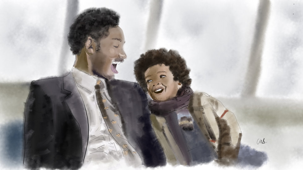 """The Pursuit of Happyness """"Babysteps Are Counted too"""" print"""