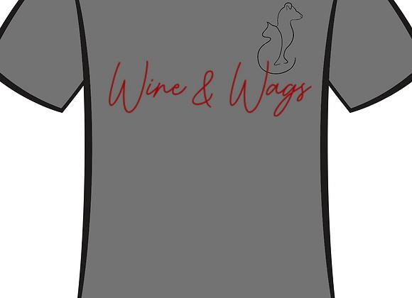 Wine & Wags Tshirt
