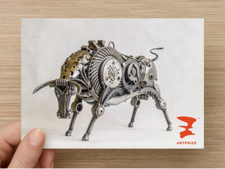 Bull's trip to ARTPRIZE in USA
