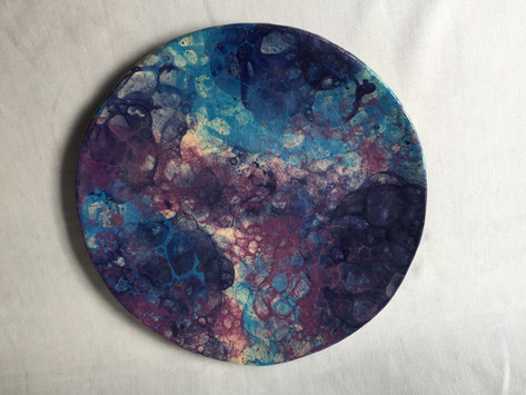 Burbujas violeta