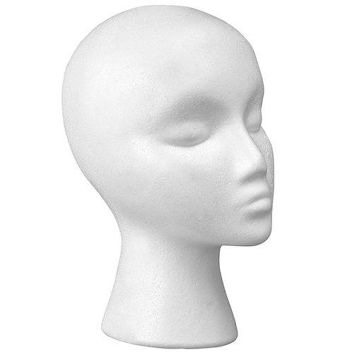 Styrofoam Wig Mannequin