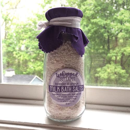 Lavender Orange Milk Bath Salts