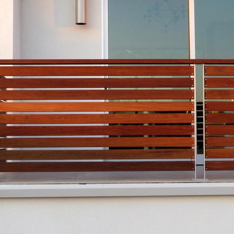 Ipe & Steel Railing Exterior