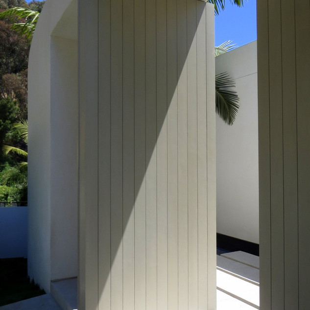 Alta Mura Entry: View from Outside