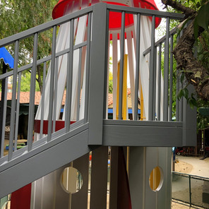 Playhouse: Back Landing and Steps