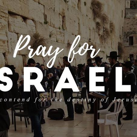 """Pray For Revival in Israel"" by Dr. Lance Wonders"
