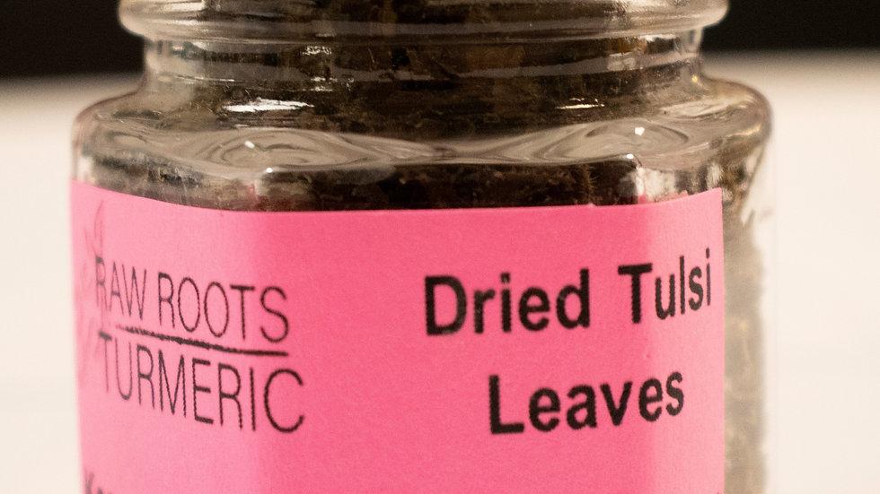 Fresh Dried Tulsi Leaves