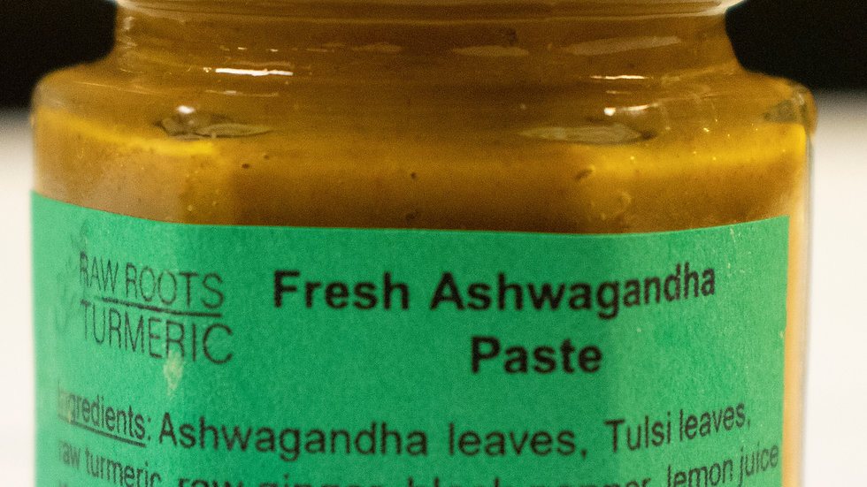 Fresh Ashwagandha Paste