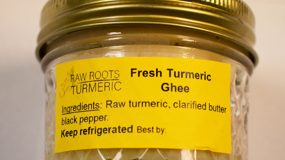 Fresh Turmeric Ghee
