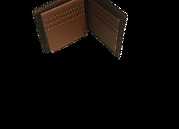 Portefeuille en cuir (noir)