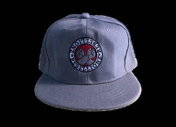 Casquette snapback (gris avec logo)