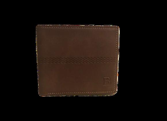 Portefeuille en cuir (brun)