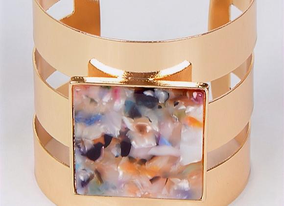 Bracelet de couleur or