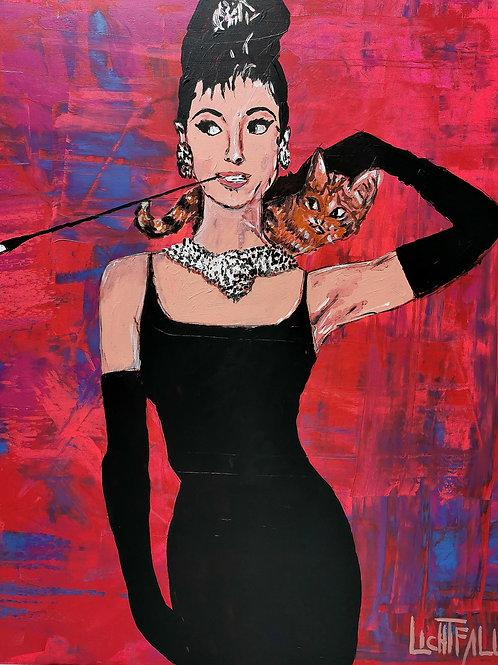 AUDREY HEPBURN CAT
